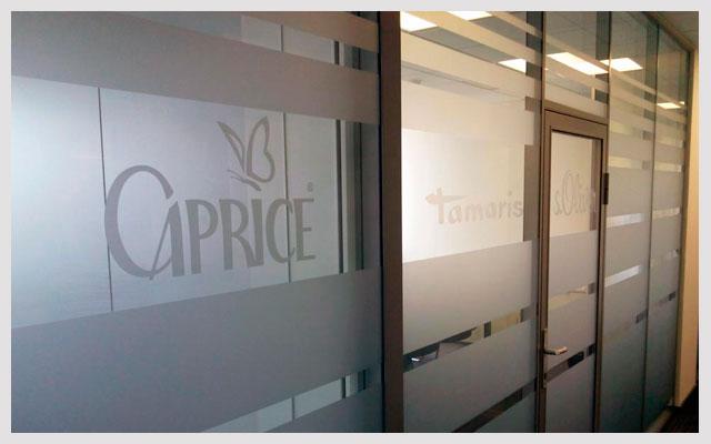 Оформление офиса Tamaris